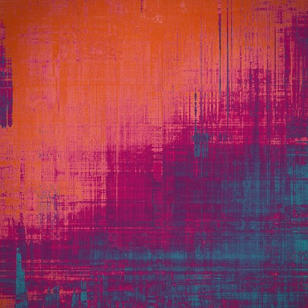 Old background with delicate abstract texture. With different color patterns: red (orange); purple (violet); pink; blue