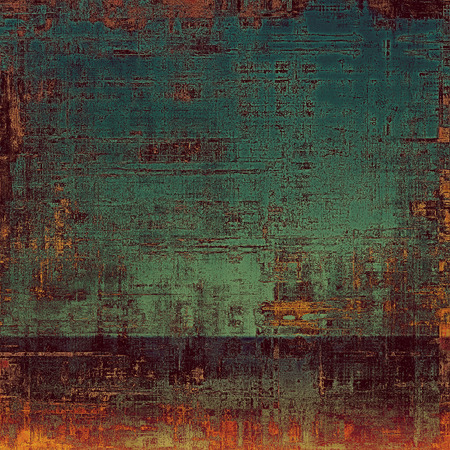 violet red: Old grunge antique texture. With different color patterns: brown; red (orange); green; purple (violet) Stock Photo