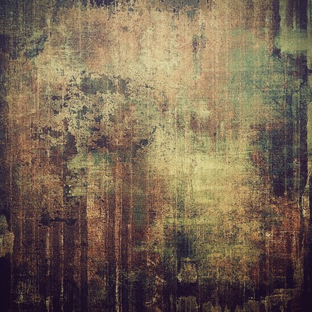 black grunge background: Old designed texture as abstract grunge background. With different color patterns: yellow (beige); brown; green; black