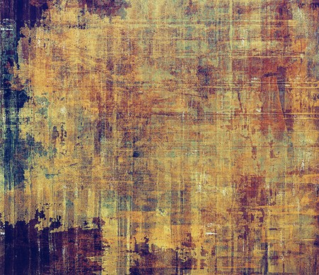 old backgrounds: Aging grunge texture designed as abstract old background. With different color patterns: yellow (beige); brown; purple (violet); blue