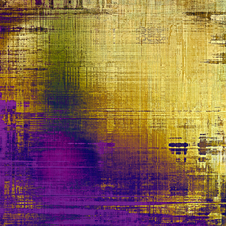 aging: Aging grunge texture designed as abstract old background. With different color patterns: yellow (beige); brown; purple (violet); blue