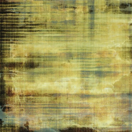 green and black: Art grunge vintage textured background. With different color patterns: yellow (beige); brown; green; black