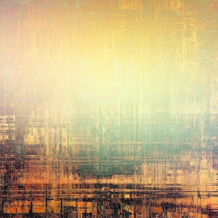distressed background: Grunge stained texture, distressed background with space for text or image. With different color patterns: yellow (beige); brown; green; black