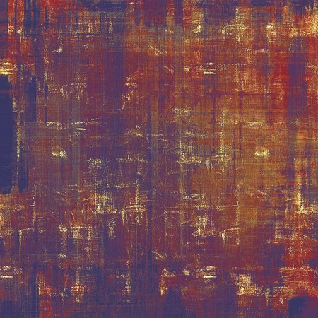oldest: Grunge old-school texture, background for design. With different color patterns: brown; red (orange); gray; purple (violet) Stock Photo
