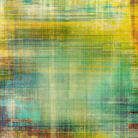 Abstract grunge background or old texture. With different color patterns: yellow (beige); brown; green; blue