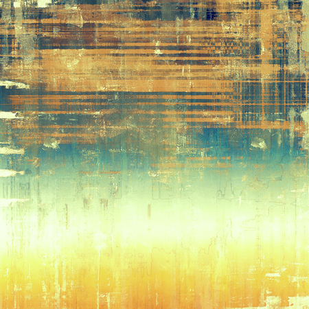 oldschool: Grunge old-school texture, background for design. With different color patterns: yellow (beige); brown; white; blue