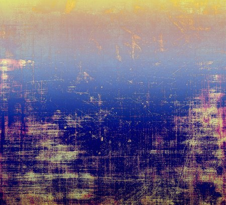 bad condition: Grunge colorful background or old texture for creative design work. With different color patterns: yellow (beige); purple (violet); blue; pink Stock Photo