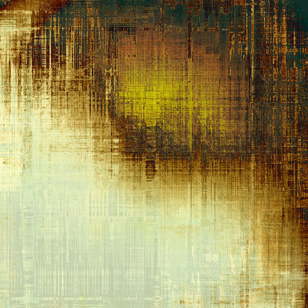 green brown: Old texture - perfect background with space for your text or image. With different color patterns: yellow (beige); brown; white; green