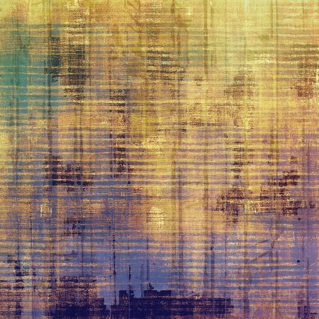 oldschool: Grunge old-school texture, background for design. With different color patterns: yellow (beige); brown; purple (violet); green
