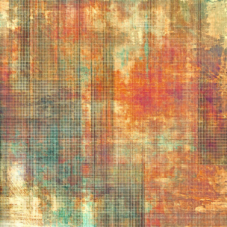 orange texture: Old grunge template. With different color patterns: yellow (beige); brown; green; pink; red (orange) Stock Photo