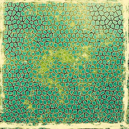 grained: Old texture or antique background. With different color patterns: yellow (beige); brown; green; cyan