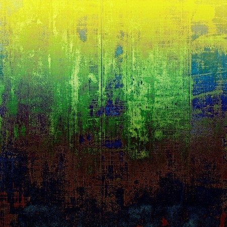 grooves: Designed background in grunge style. With different color patterns: yellow (beige); brown; black; blue; green Stock Photo