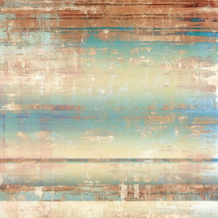 bad condition: Grunge aging texture, art background. With different color patterns: yellow (beige); brown; blue; cyan; white Stock Photo
