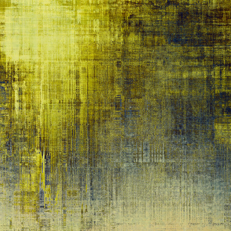 bad condition: Grunge colorful background or old texture for creative design work. With different color patterns: yellow (beige); brown; gray; blue Stock Photo