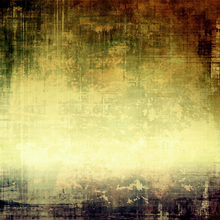green brown: Grunge background or texture for your design. With different color patterns: yellow (beige); brown; black; green; gray