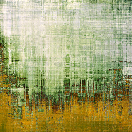 Grunge texture, may be used as background. With different color patterns: yellow (beige); brown; green; white; gray Stock Photo