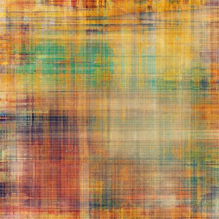 oldschool: Grunge old-school texture, background for design. With different color patterns: yellow (beige); brown; red (orange); pink; green
