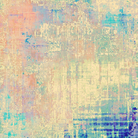 old fashioned sepia: Old background with delicate abstract texture. With different color patterns: yellow (beige); brown; red (orange); blue; pink Stock Photo