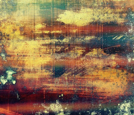 orange texture: Grunge colorful texture for retro background. With different color patterns: yellow (beige); brown; red (orange); blue; green