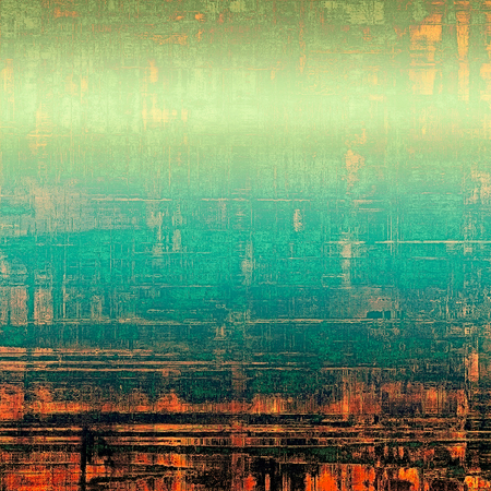 saturated color: Grunge old texture as abstract background. With different color patterns: yellow (beige); red (orange); blue; green; black Stock Photo