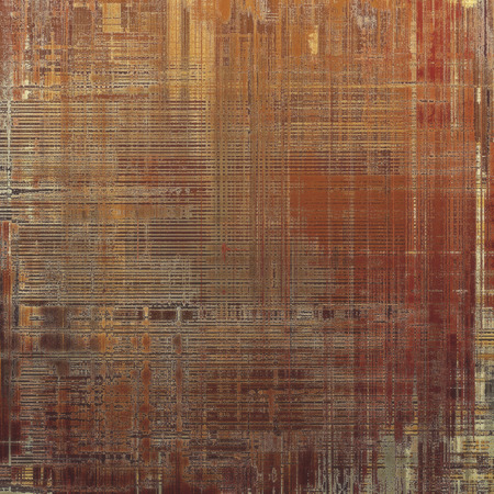 oldfield: Old abstract texture with grunge stains. With different color patterns: yellow (beige); brown; red (orange); gray