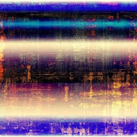 pink and black: Old grunge textured background. With different color patterns: yellow (beige); blue; pink; purple (violet); black