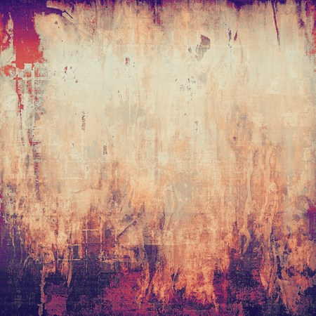 violet red: Grunge old texture as abstract background. With different color patterns: yellow (beige); brown; red (orange); pink; purple (violet)