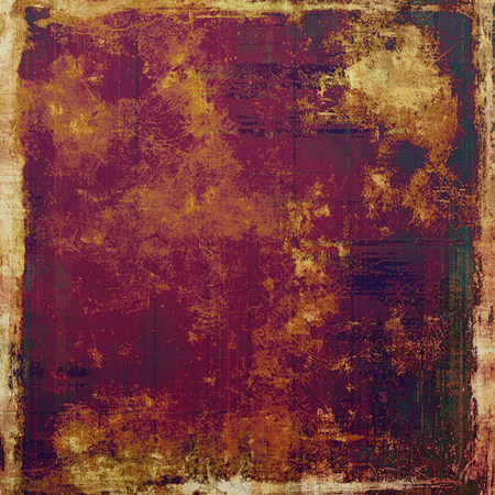 oldfield: Old abstract grunge background for creative designed textures. With different color patterns: yellow (beige); brown; green; pink; purple (violet)