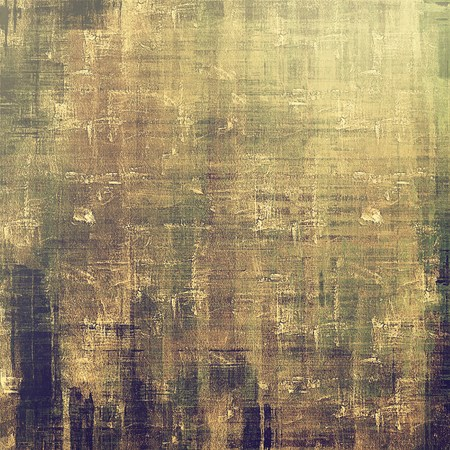oldfield: Old vintage background with retro-style elements and different color patterns: yellow (beige); brown; green; gray