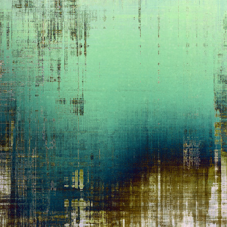 faded: Abstract old background or faded grunge texture. With different color patterns: brown; blue; green; cyan; gray