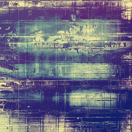 obsolete: Antique vintage texture, old-fashioned weathered background. With different color patterns: yellow (beige); gray; blue; purple (violet)