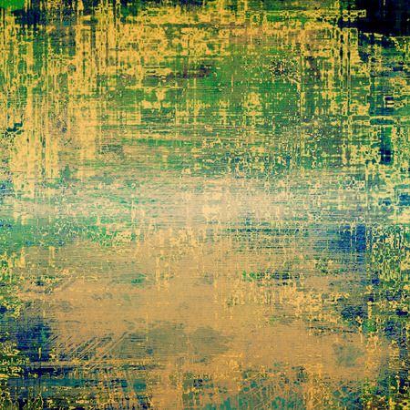 oldfield: Abstract grunge textured background. With different color patterns: yellow (beige); brown; green; blue
