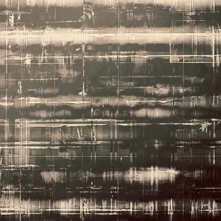 Grunge texture. With different color patterns: yellow (beige); brown; gray; black Stock Photo