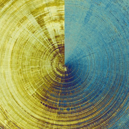 saturated color: Grunge texture. With different color patterns: yellow (beige); brown; blue; cyan Stock Photo