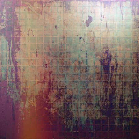 degraded: Old texture or antique background. With different color patterns: brown; green; red (orange); purple (violet); gray