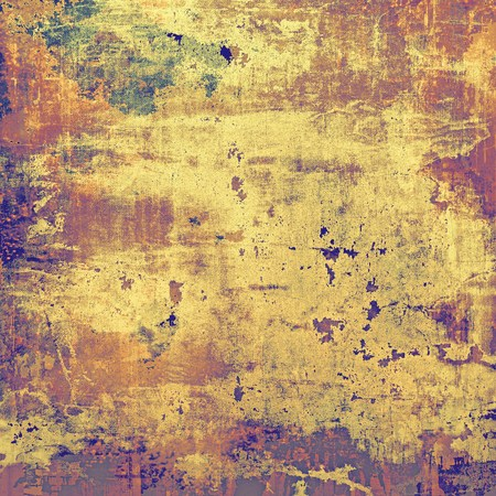 eroded: Old, grunge background texture. With different color patterns: yellow (beige); brown; red (orange); purple (violet); pink