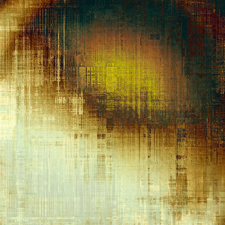 crosshatching: Abstract grunge textured background. With different color patterns: yellow (beige); brown; green; gray; white