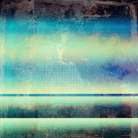 smudged: Abstract grunge background. With different color patterns: yellow (beige); brown; blue; purple (violet); cyan Stock Photo