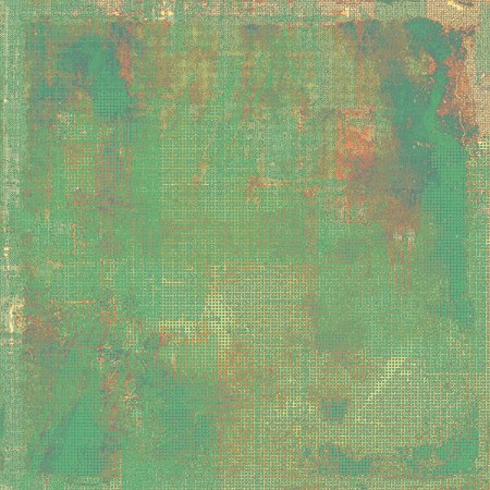 crosshatched: Old grunge background with delicate abstract texture and different color patterns: yellow (beige); brown; green; red (orange)