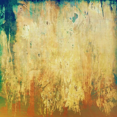 retro grunge: Designed grunge texture or retro background. With different color patterns: yellow (beige); brown; green; blue; red (orange) Stock Photo