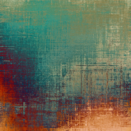 obscure: Old and weathered grunge texture. With different color patterns: yellow (beige); brown; green; blue; red (orange)