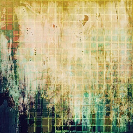 blemish: Old grunge antique texture. With different color patterns: yellow (beige); brown; green; blue; white