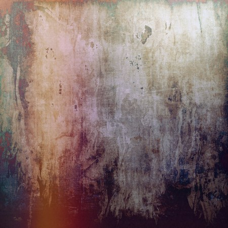 violet red: Old abstract grunge background, aged retro texture. With different color patterns: yellow (beige); brown; red (orange); black; purple (violet) Stock Photo