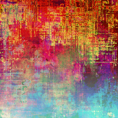 eroded: Vintage Template. With different color patterns: yellow (beige); green; blue; red (orange); purple (violet); pink