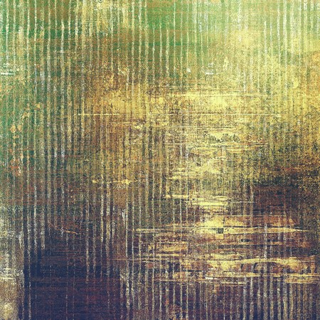 exceptional: Abstract grunge background or old texture. With different color patterns: yellow (beige); brown; green; gray