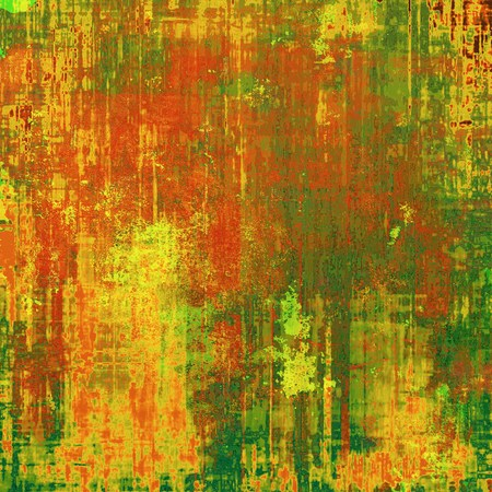 shadowy: Dirty and weathered old textured background. With different color patterns: yellow (beige); brown; green; red (orange)