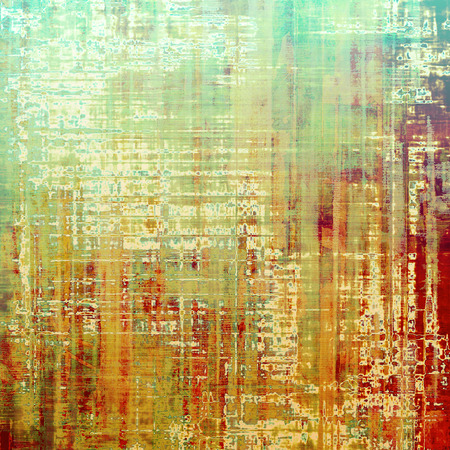 Old antique texture - perfect background with space for your text or image. With different color patterns: yellow (beige); brown; green; red (orange); white Stock Photo