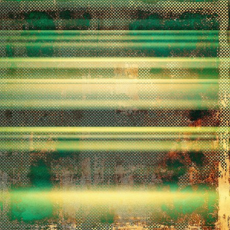 saturated color: Dirty and weathered old textured background. With different color patterns: yellow (beige); brown; green; gray