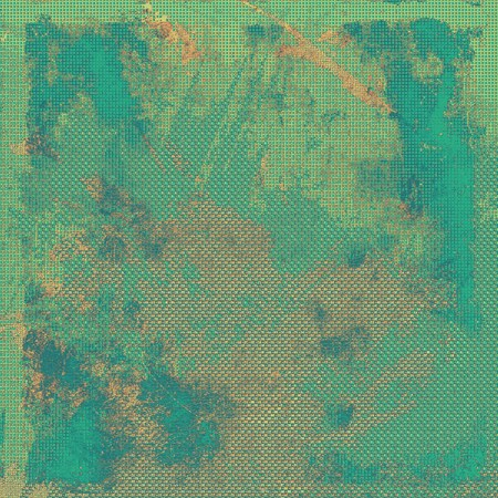 blemish: Abstract rough grunge background, colorful texture. With different color patterns: yellow (beige); brown; green; blue; cyan Stock Photo