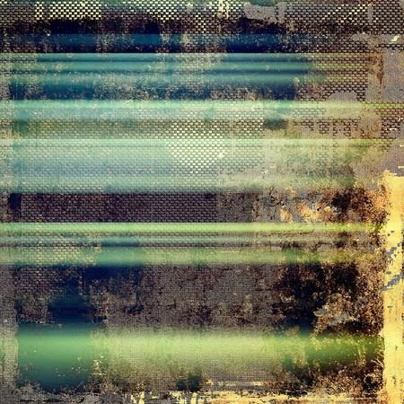 Grunge retro vintage textuur, oude achtergrond. Met verschillende kleurpatronen: geel (beige); bruin; groen; blauw; zwart